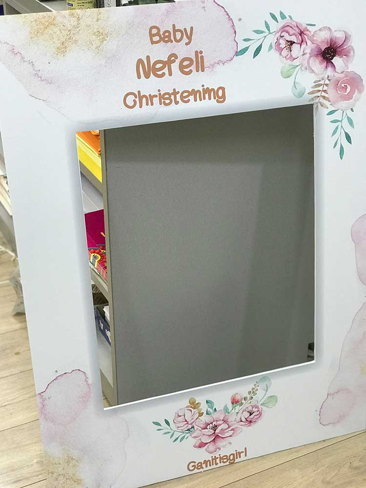 photobooth για βάπτιση